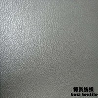 Durable Waterproof Embossed PU Synthetic Leather
