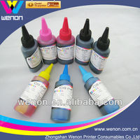 Special Dye ink for Epson wide format series printer 1 Liter per bottle bulk packing for Epson Refill cartridge