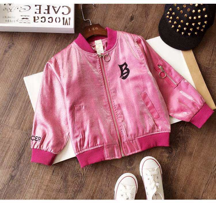Baseball clothing spring and autumn 2019 new cute baby spring children  jacket
