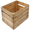Used Distressed Wooden Wine Fruit Crates for Sale