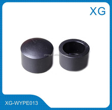 all size hdpe pipe end/black color pe end cap/plastic water pipe protect end cap