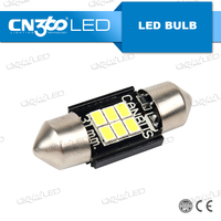 3020 SMD White LED canbus Festoon Dome License Plate Light Car Bulb