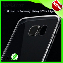 For samsung s7 tpu case, Clear soft for samsung s7 Tpu Clear case wholesale