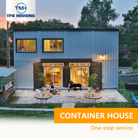 2 Story Container House China Export Elegant Expendable Duplex Fabricated Container House For Sale In Greece