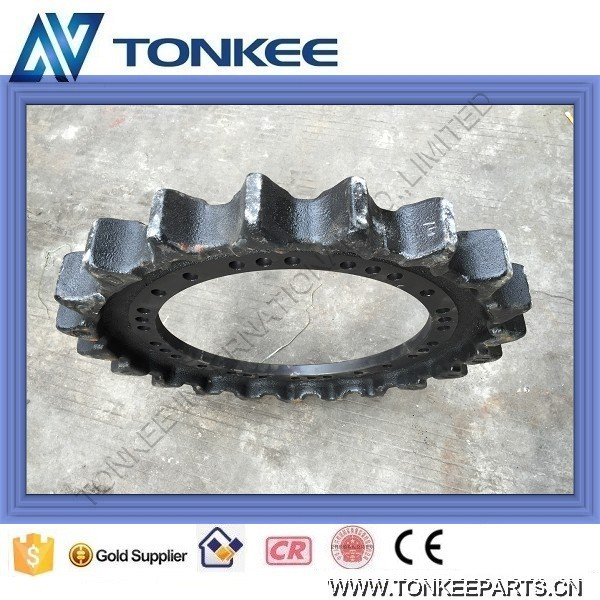 hydraulic excavator sprocket SK200-8 SK250-8 sprocket undercarriage for KOBELCO