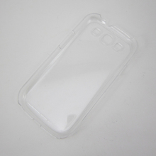 Transparent phone shell,PC phone case,protective back cover for Samsung S3