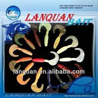 Lanquan hot wholesale high quality soft plastic fishing lure FAT BOYMOM