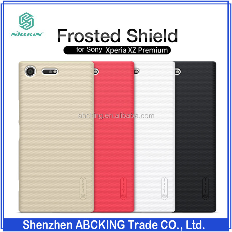 Nillkin for Sony Xperia <strong>L1</strong> Frosted Hard Hard Back Cover Case For Sony Xperia XZ Premium