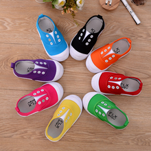 breathable soft light comfortable sports baby shoes kids canvas shoes made in China