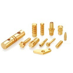 Customized high precision brass components