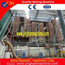 Gravity helix spiral 1200 for mineral sand, ilmenite, iron, zircon, chrome ore separating