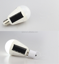 Solar led rechargeable light bulb 7w emergency bulb