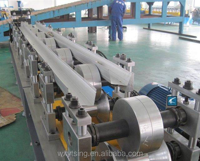 YTSING-YD-000351 Rain Gutter Making Machine, Seamless Gutter Machine for Sale
