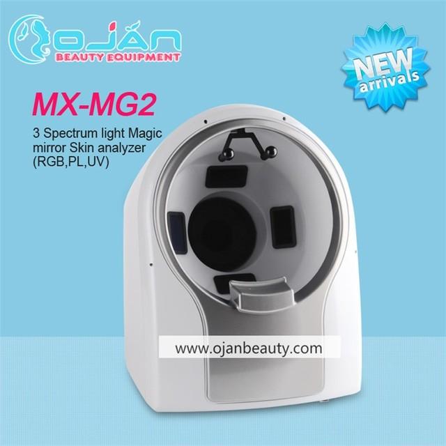 Portable 3D magic mirror full face skin analyser