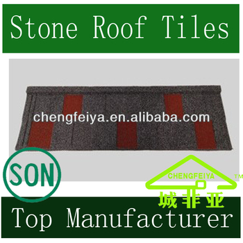 Stone Chips Coated Roofing Tile