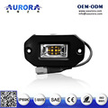 Good looking,with different colors 9w rock light ,act as tail light