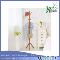 Stylish furniture coat rack stand,bamboo coat rack tower stand hanger
