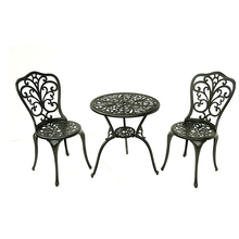 Metal patio furniture outdoor garden bistro set