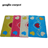Wholesale Love Shape Jacquard Bathmat For