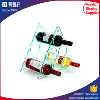 cocktail display shelf rack/wine shelving rack/beer bottle display case
