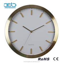 Fancy Design Gift Quartz Aluminium Clock