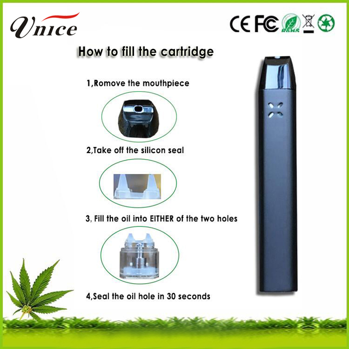 Fast shipping thc co2 oil vaporizer and vaporizer herbalizer cbd vape protank 2 batteries starter kit