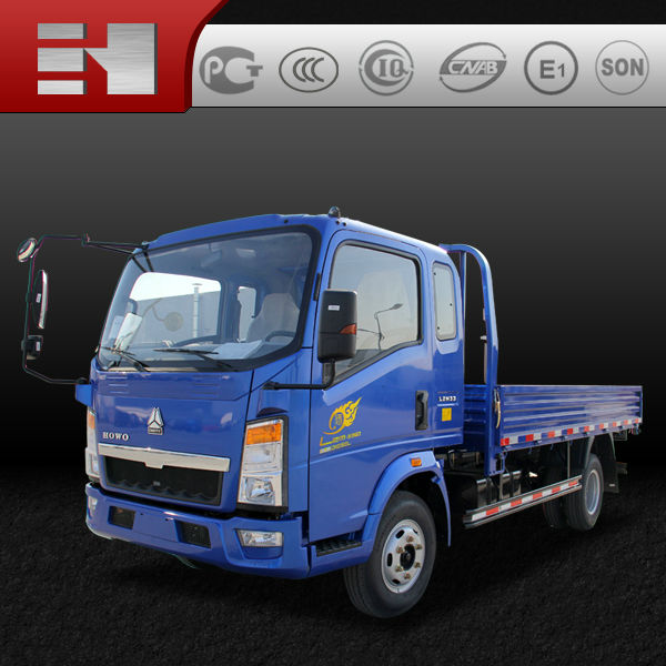 low price mini cargo truck 4x2 hot sale in Asia, South America and Africa