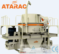 Professional vertical shaft stone crusher sand making machine with CE certificate