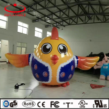 inflatable air sealed PVC chicken
