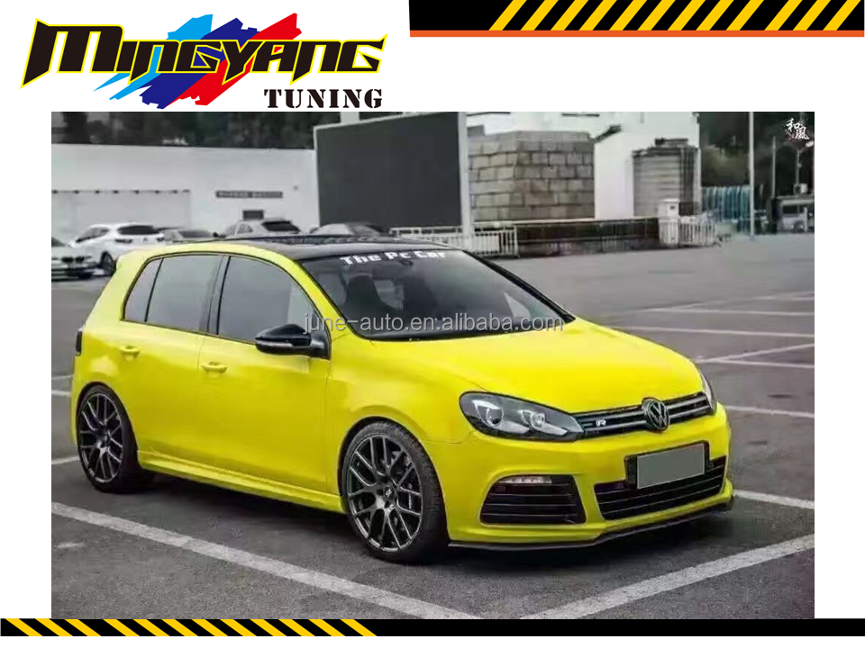 Body kit bodykit bumper R20 design for Golf 6