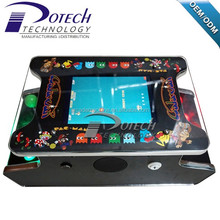 Guangzhou Potech video game15 inch LCD Mini table top arcade with video arcade 60 in 1 mini joystick bartop arcade game machine