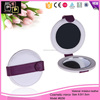 Hello Pink CE Certificated Delicate Leather cosmetic pocket mirror