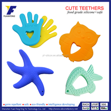 Wholesale China Factory Natural Silicone Rubber Baby Teething Toy