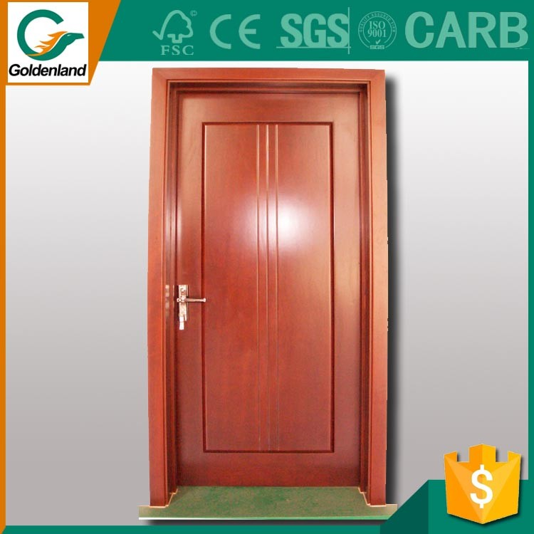 2016 luxury classical solid wood red oak carving interior french door