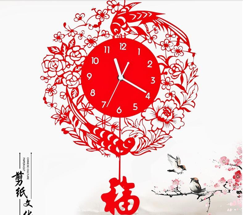 China Gift Clock Acrylic Fashion Wall Clock Display