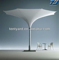 big size strong frame pvc tulip umbrella