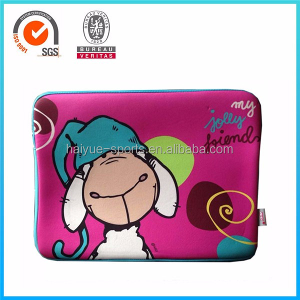 2016 Hot Sale Waterproof Custom Printed Neoprene Laptop Sleeve,shockproof neoprene laptop sleeve good sale in America