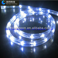 high bright led underwater rope light