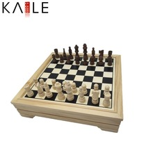 7 in 1 game set with wooden box