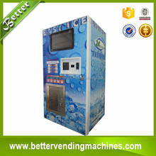 Easy Operated Coine operated ice vending machine for sale