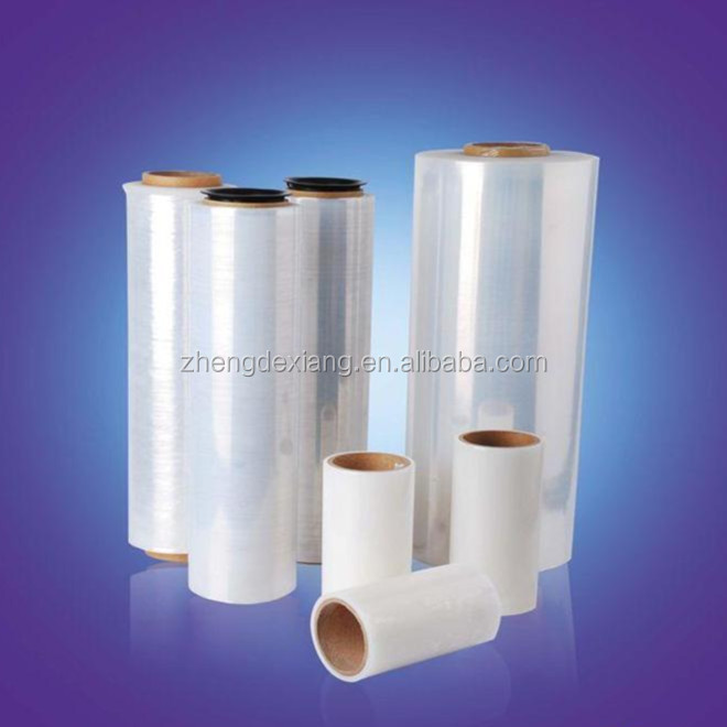 Plastic Packages Polyethylene Hand Cast Stretch Film Roll