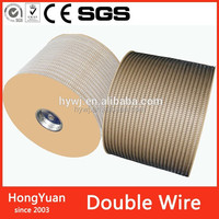 "size 5/16"" 58000 loops/roll double loop wire o binding, double loop wire in spool, double loop wire ring"