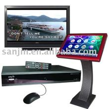 Hard Disk Player,Karaoke,TouchScreen All in KOD-6