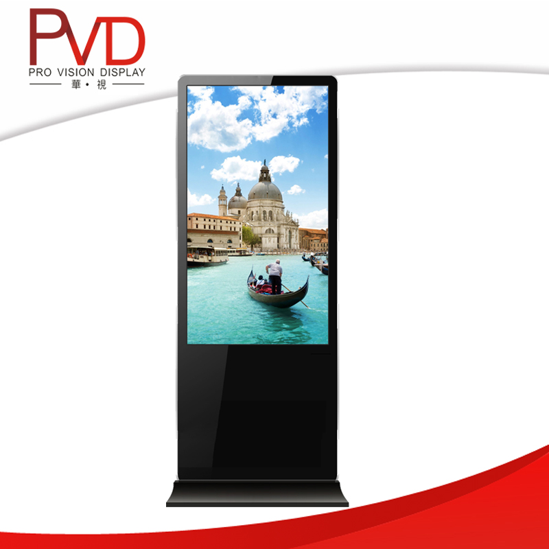 55 Inch Floor Standing Advertising Player Totem