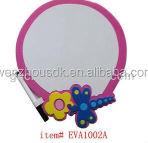 Non-toxic children eva foam dry eraser maker writing board