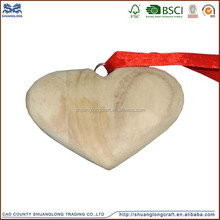 latest design wedding decoration wooden heart shape with best price