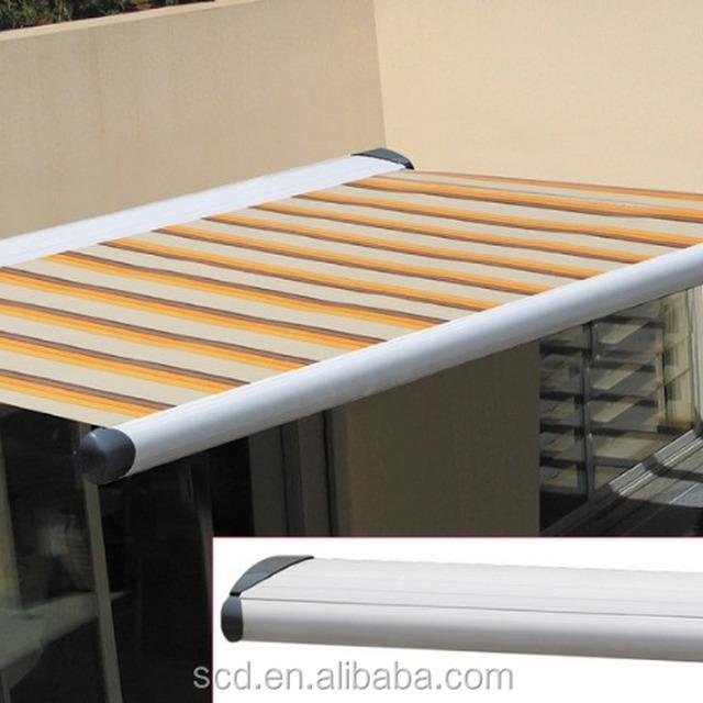 Aluminum Frame Half Cassette Folding Arm Awning