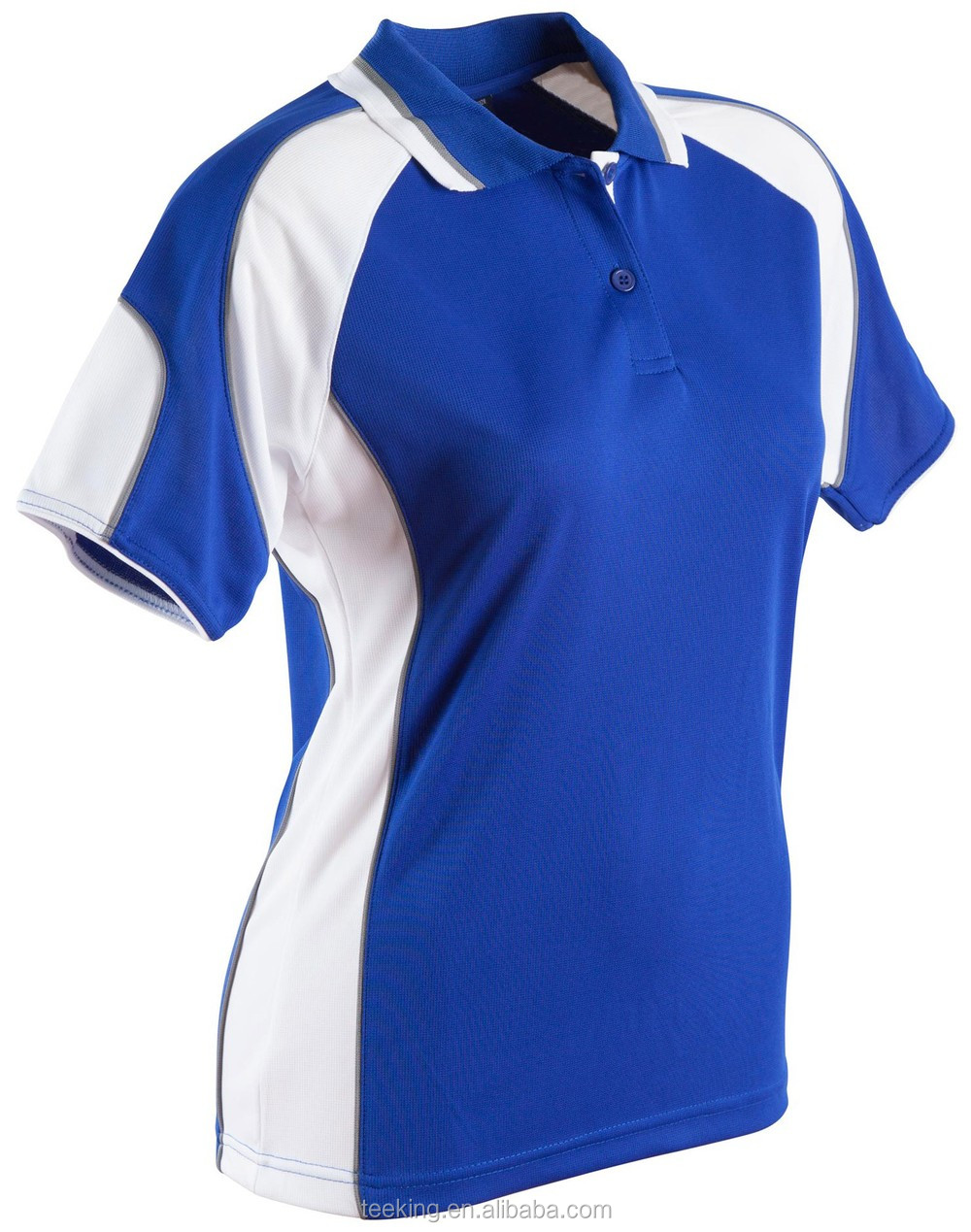Contrast panels color combination cool dry fit splicing for Polo shirt color combination