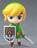 10cm Nendoroid The Legend of Zelda Link Game Action Figure Toys Anime Figure