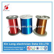 UL Approved EIW/AI 18 Gauge Colored Enamel Copper Wire for Copper Winding Wire and Price